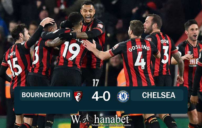 Hasil Pertandingan Bournemouth vs Chelsea