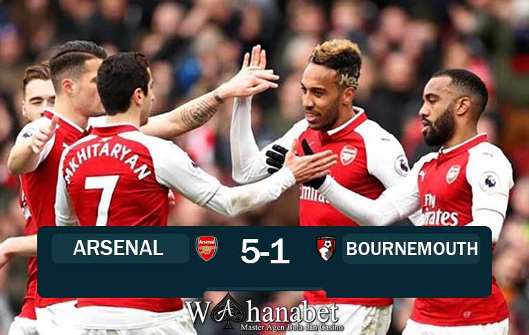 Hasil Pertandingan Arsenal vs Bournemouth