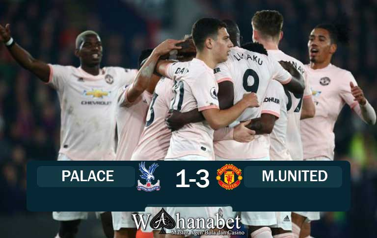 Hasil Pertandingan Palace vs United
