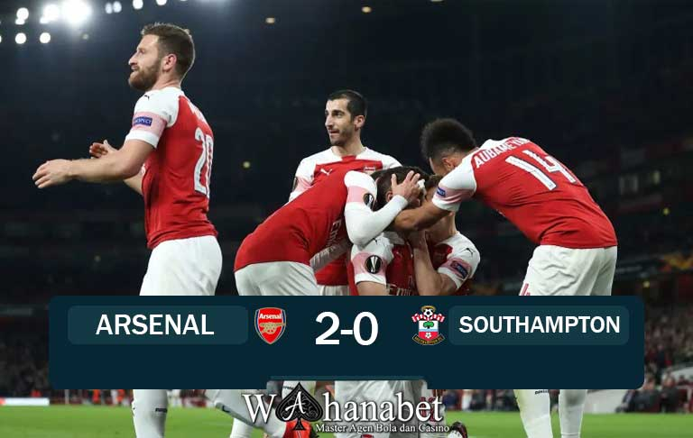 Hasil Pertandingan Arsenal vs Southampton