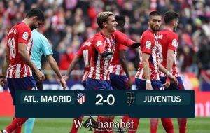 Hasil Pertandingan Atletico Madrid vs Juventus