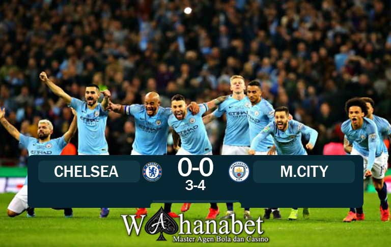 Hasil Pertandingan Chelsea vs Manchester City