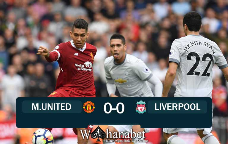 Hasil Pertandingan Manchester United vs Liverpool