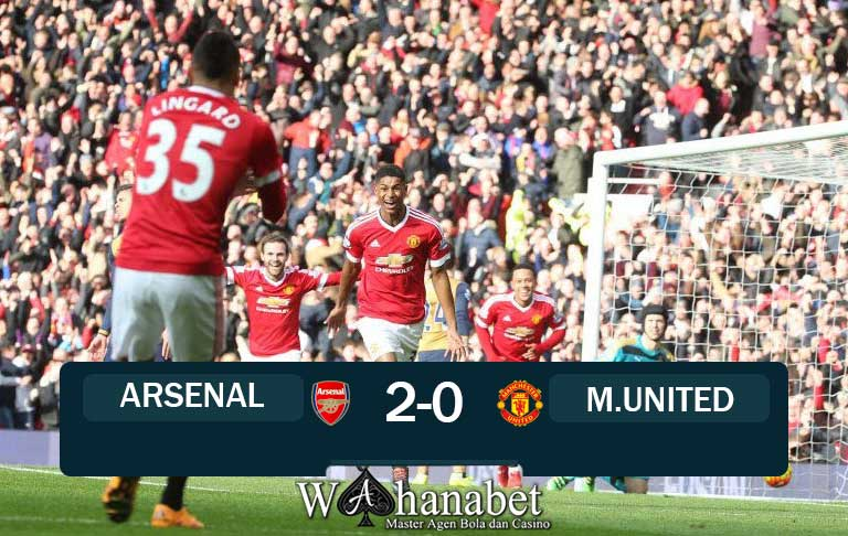 Hasil Pertandingan Arsenal vs Manchester United