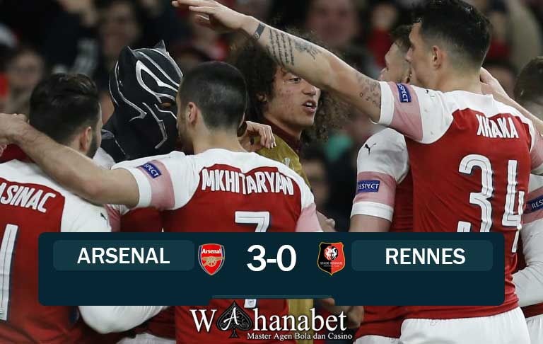 hasil pertandingan arsenal vs rennes