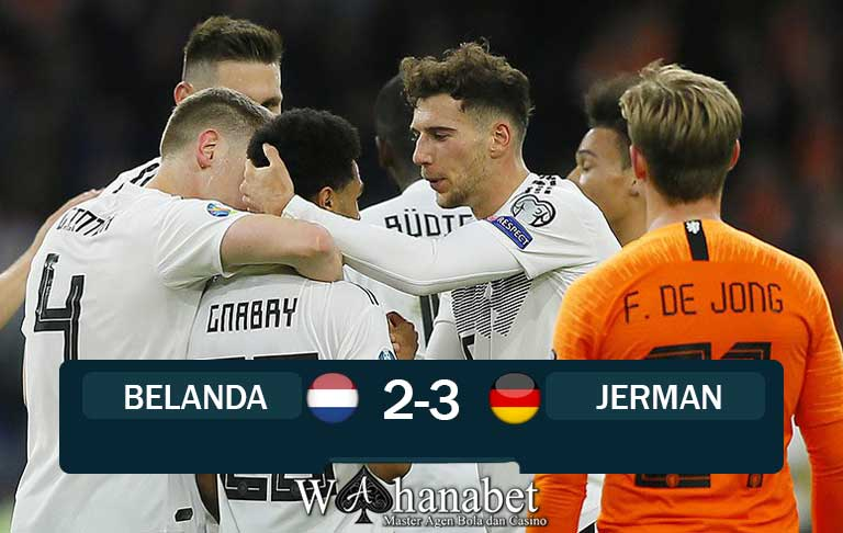 hasil pertandingan belanda vs jerman