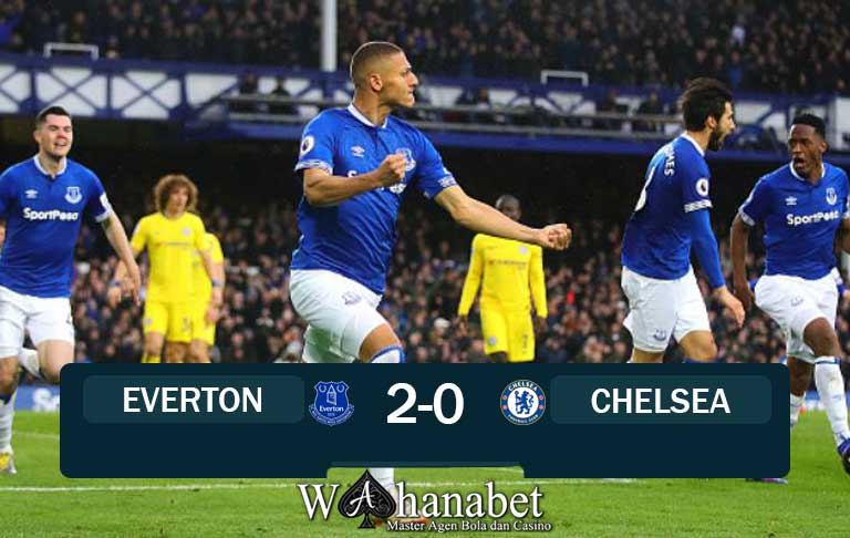 hasil pertandingan everton vs chelsea