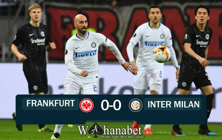Hasil Pertandingan Frankfurt vs Inter