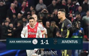 hasil pertandingan ajax vs juventus