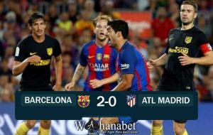hasil pertandingan barcelona vs atl madrid