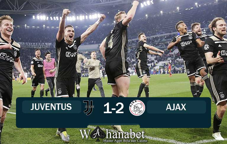 hasil pertandingan juventus vs ajax