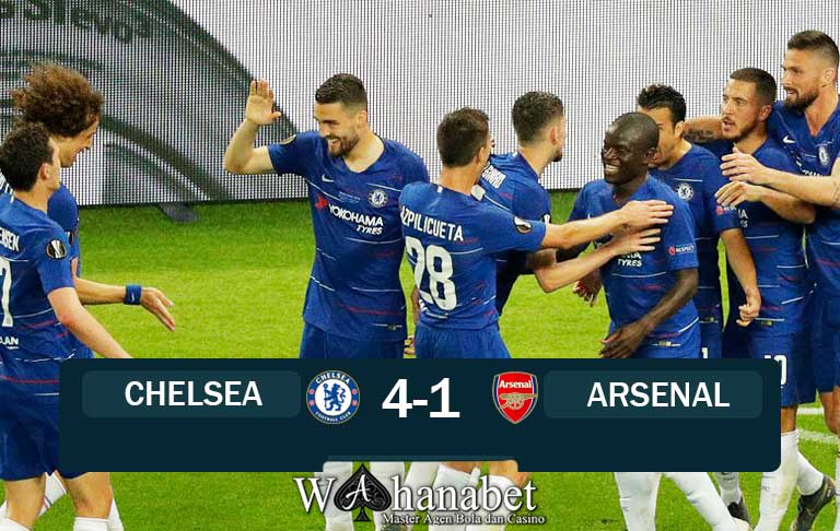 hasil pertandingan chelsea vs arsenal