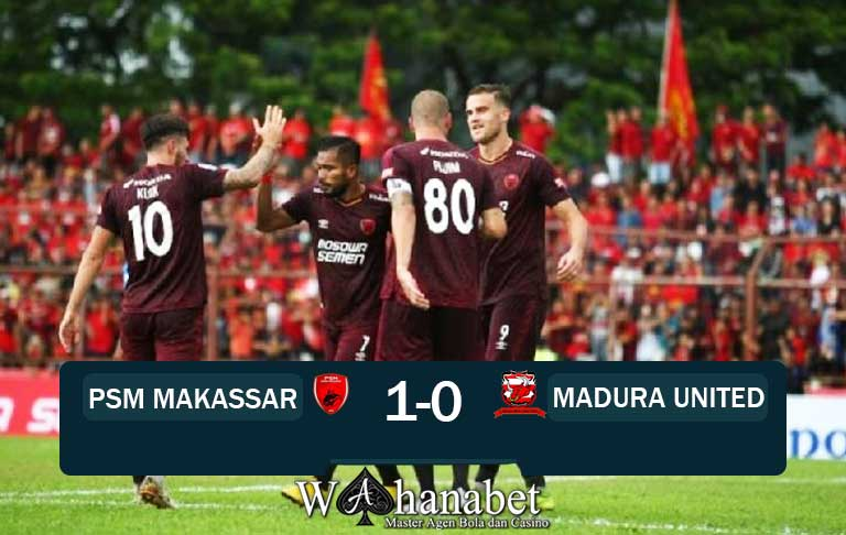 hasil pertandingan psm vs madura united