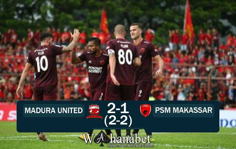 hasil pertandingan madura united vs psm