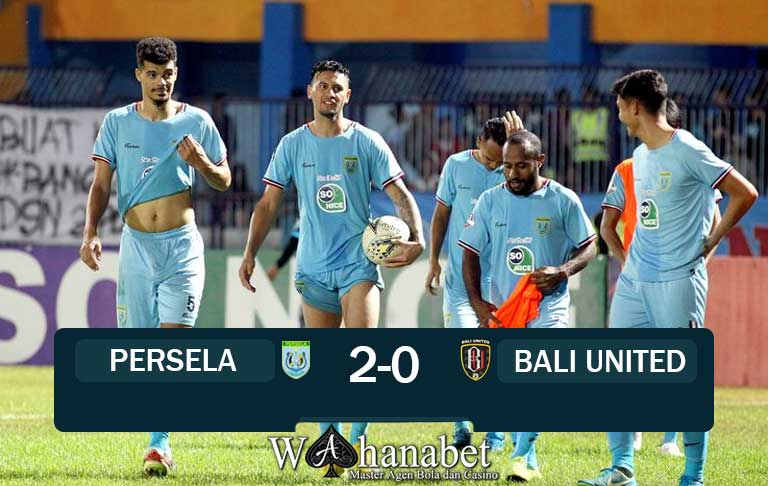 pertandingan persela vs bali united
